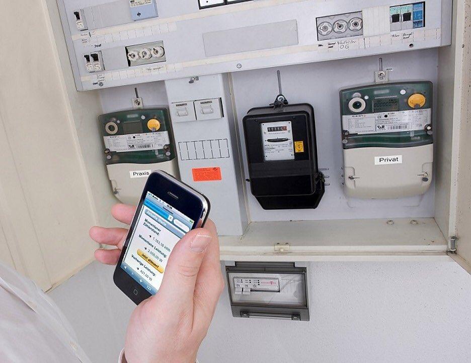 Электросчетчик с дистанционным снятием показаний на столбе — lawsexp.com