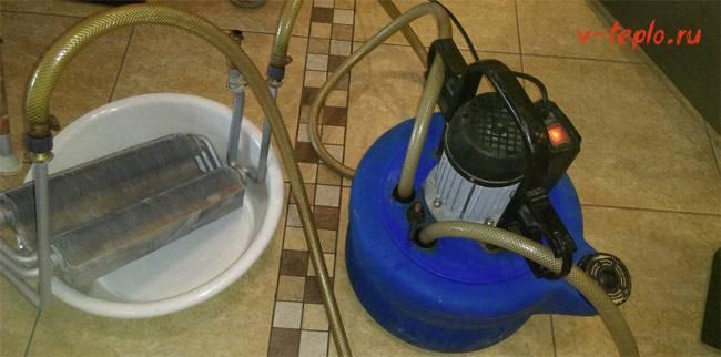 Как промыть газовый котел   всё об отоплении