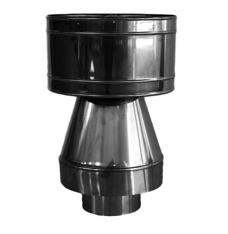 Дымник, дефлектор на дымоход/трубу: когда нужен, какой выбрать, как сделать своими руками