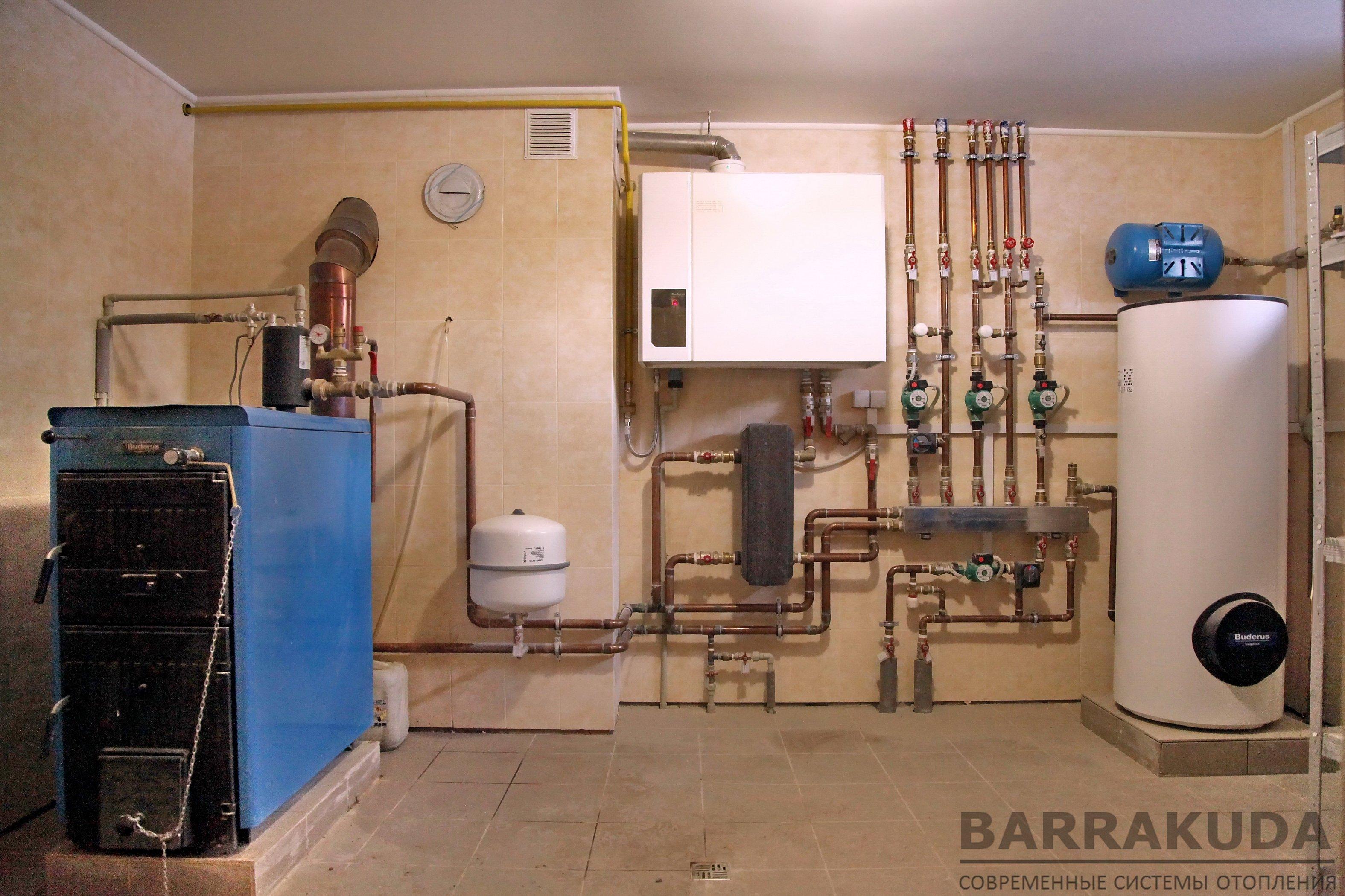 Как устроены системы отопления с насосной циркуляцией — схемы организации