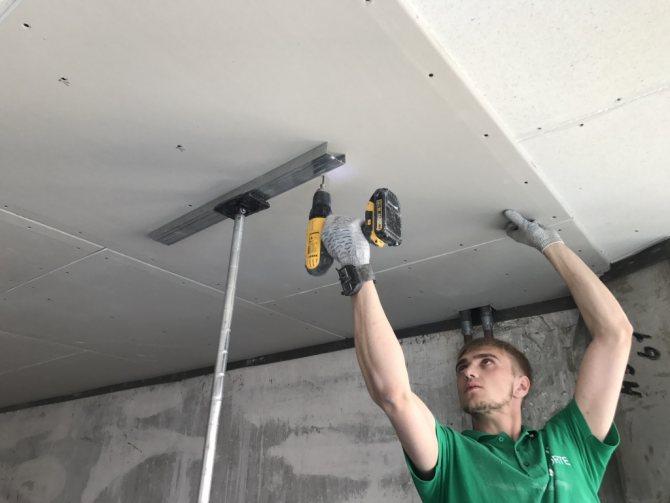 Звукоизоляция натяжного потолка – совмещаем материалы + видео
