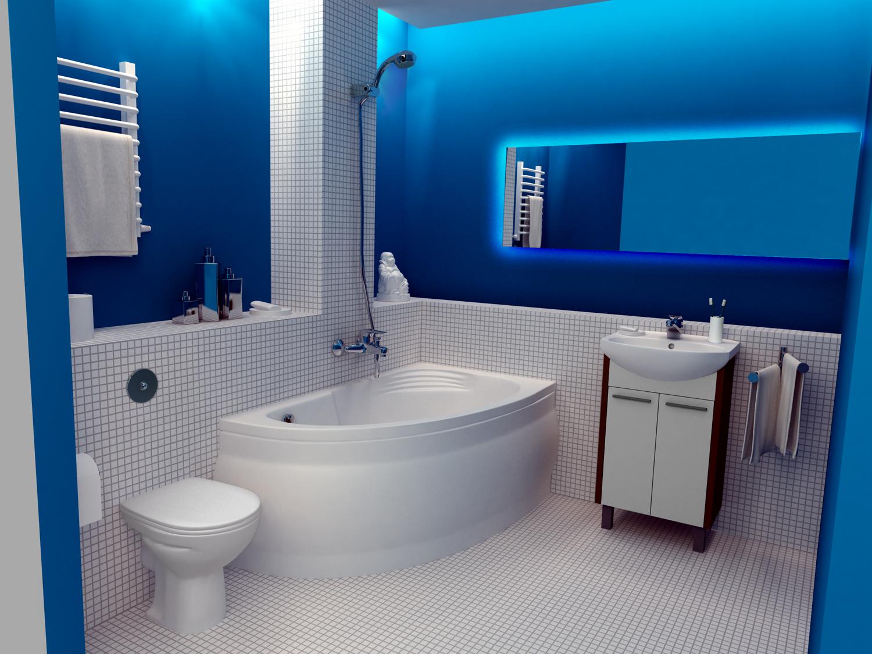Какую в маленькую ванную комнату выбрать плитку: выбор дизайна, размера и цвета кафеля