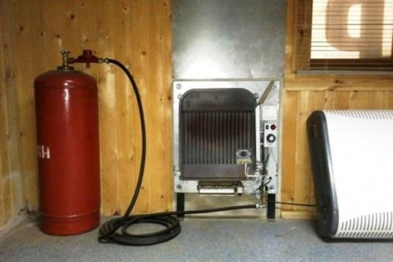 Газовый конвектор на баллонном газе: расчёт потребления