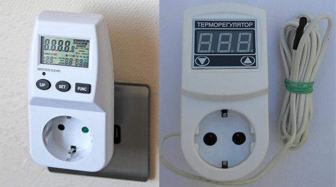 Как выбрать терморегулятор в розетку для бытовых обогревателей?