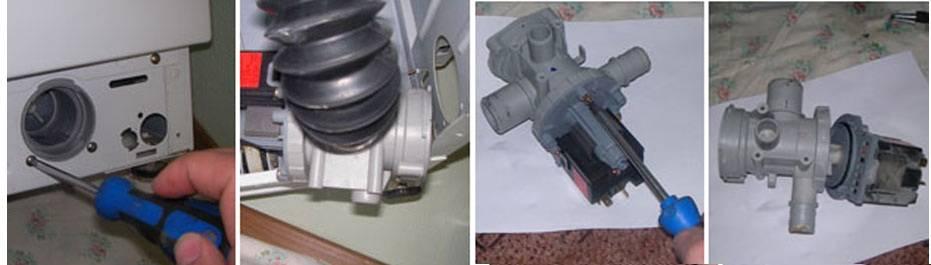 Ремонт помпы стиральной машины своими руками в lg, самсунг и других популярных моделях техники