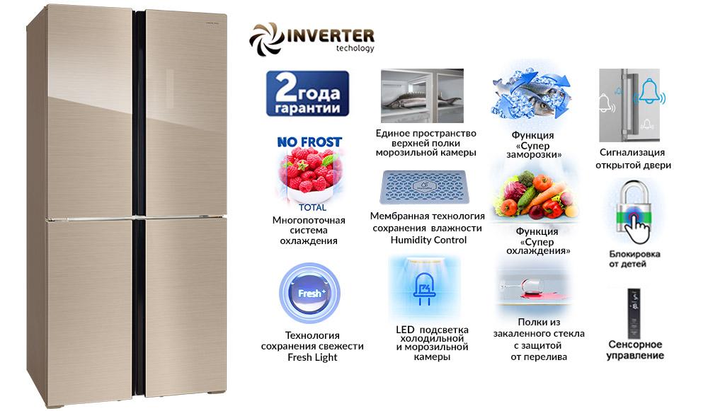 Инверторный компрессор в холодильнике и его отличия от обычного