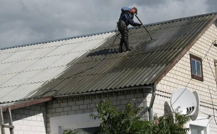 Чем заделать дырку в шифере на крыше изнутри