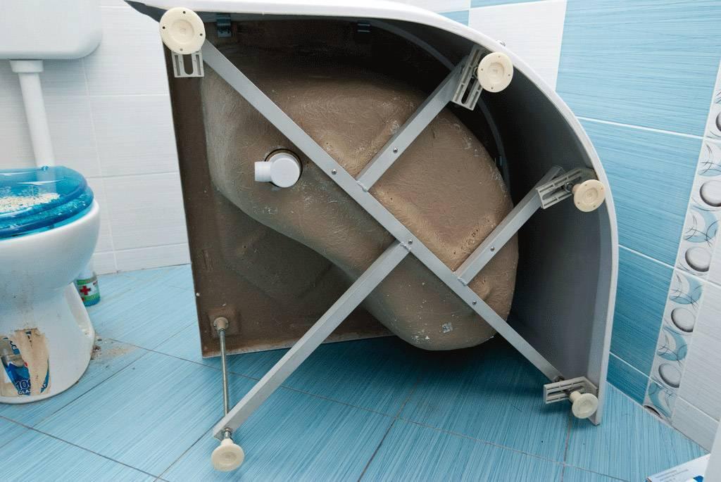 Поддон из плитки для душевой кабины: инструкция по сборке своими руками