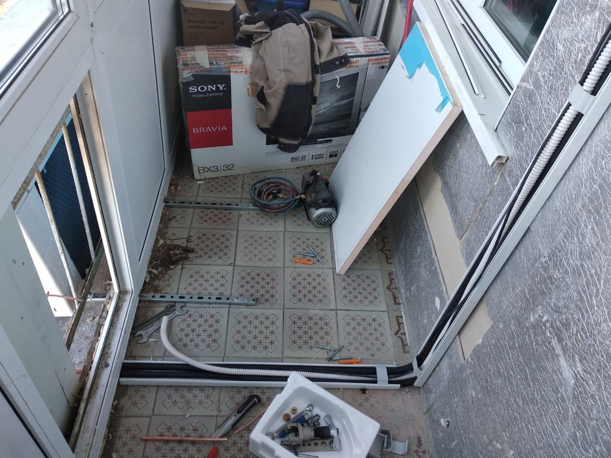 Правила установки кондиционера на балконе и лоджии