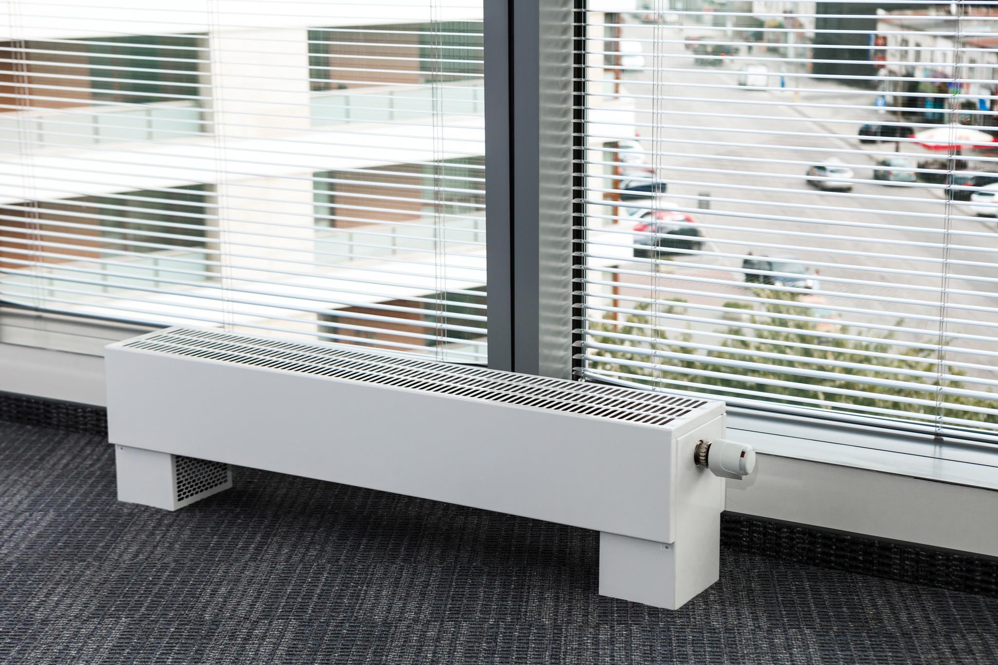 Радиаторы встраиваемые в пол: конструкция
