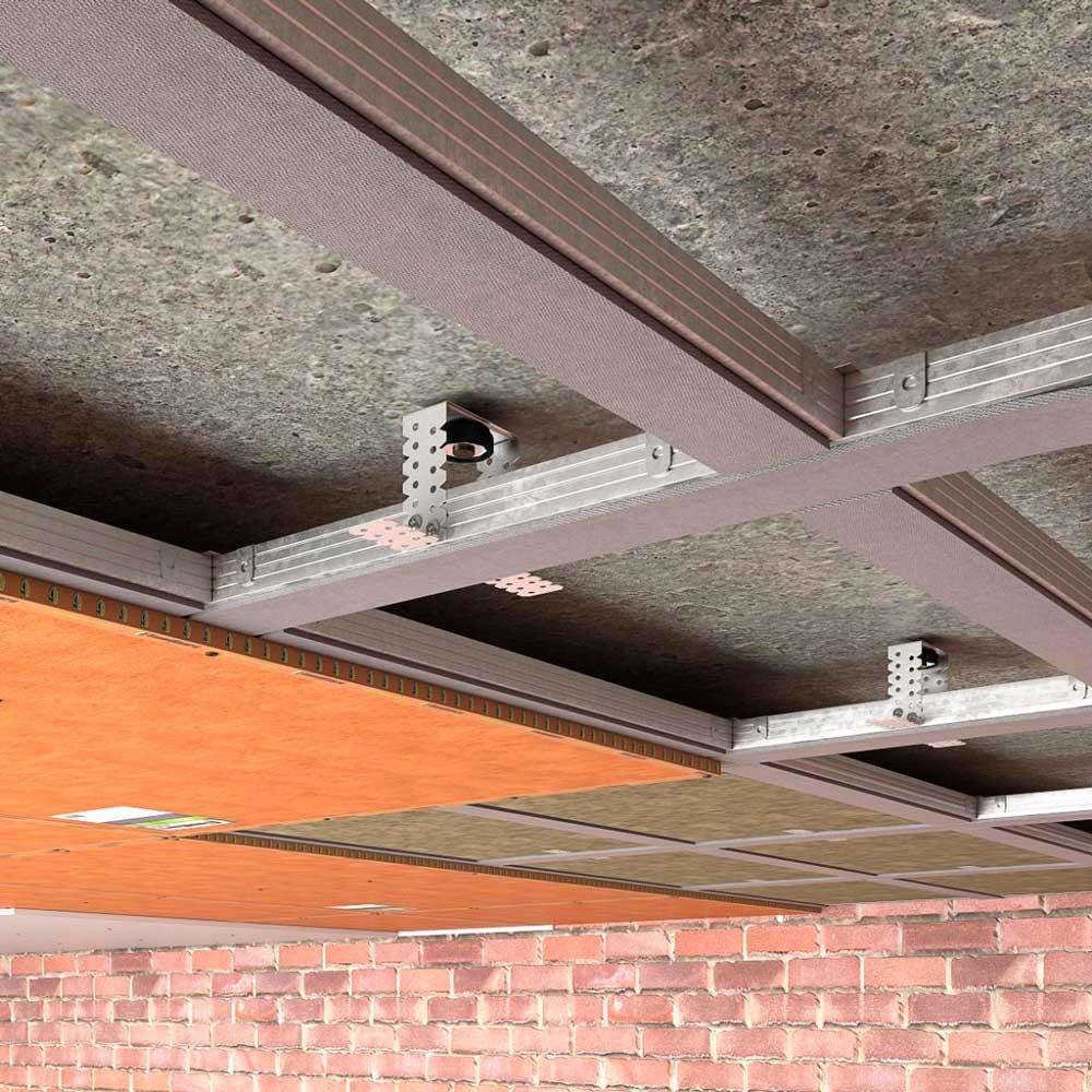 Звукоизоляция потолка в квартире под натяжной потолок: стоимость
