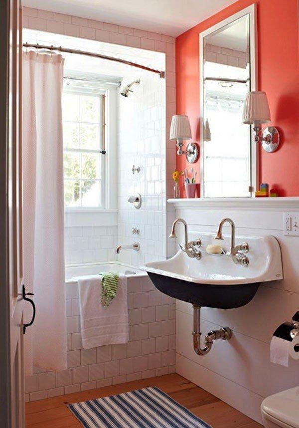 11 идей для дизайна маленькой ванной комнаты с фото | строительный блог вити петрова