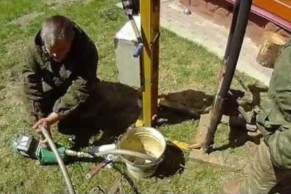 Как раскачать скважину после бурения - порядок работ