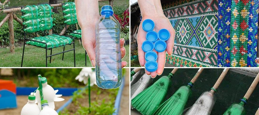 Что сделать из пластиковых бутылок своими руками (+185 фото)