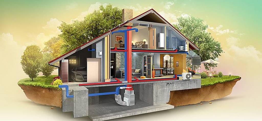 Системы отопления коттеджей: проектирование, монтаж и сервис