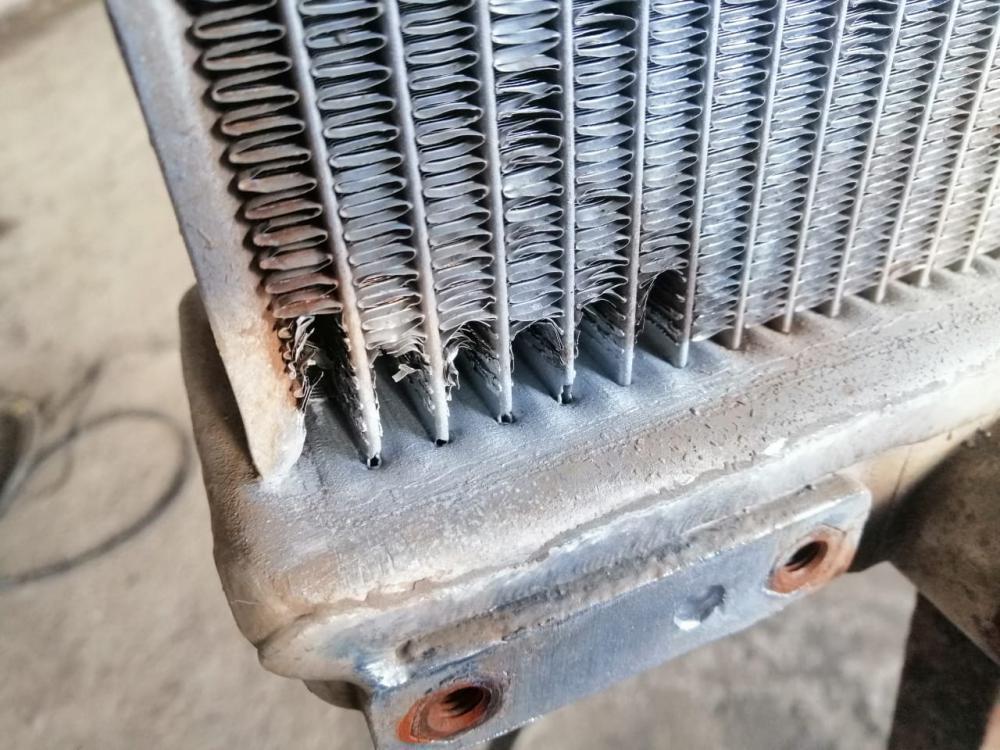 Как запаять алюминиевый радиатор - продляем жизнь агрегата своими силами