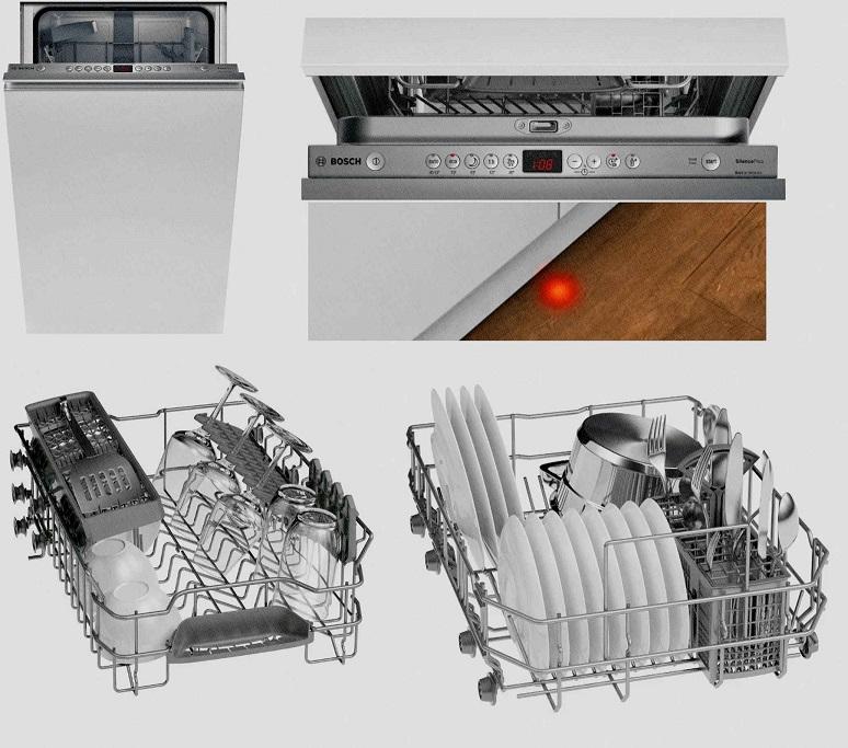 7 лучших посудомоечных машин 45 см