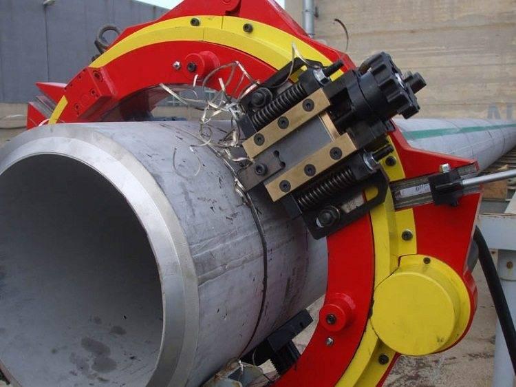 Оборудование для резки труб: виды и особенности применения - точка j