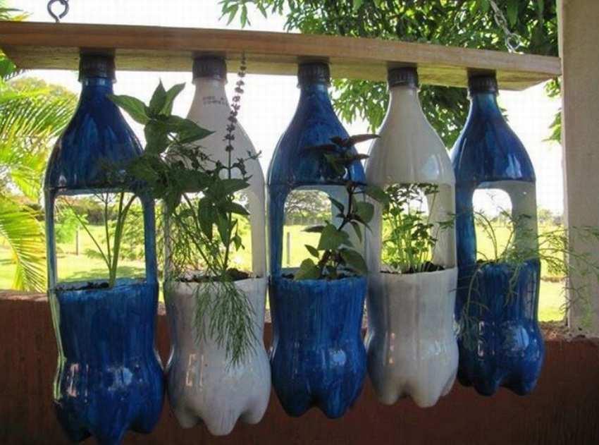 Пластиковые бутылки используем с пользой
