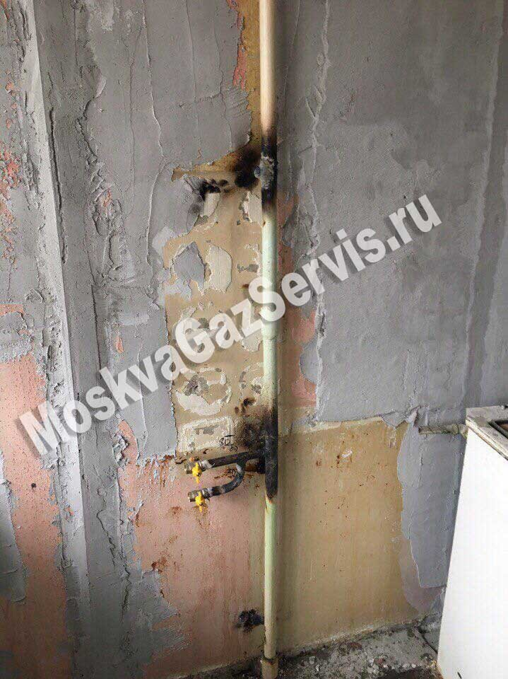 Перенос газовой трубы в квартире: как переделать на кухне, согласование работ