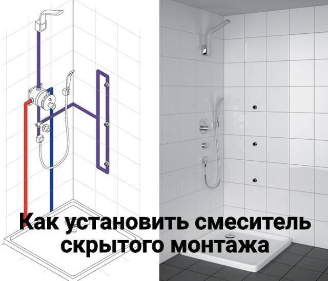 Установка смесителя в ванной: устройство и пошаговое руководство по монтажу
