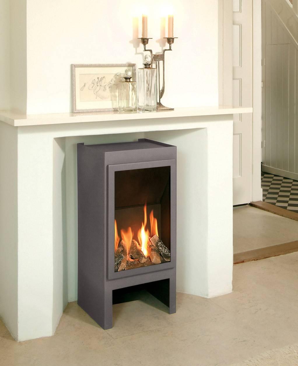 Газовый камин (76 фото): напольный для квартиры на баллонном газе для отопления, горелка своими руками, без дымохода