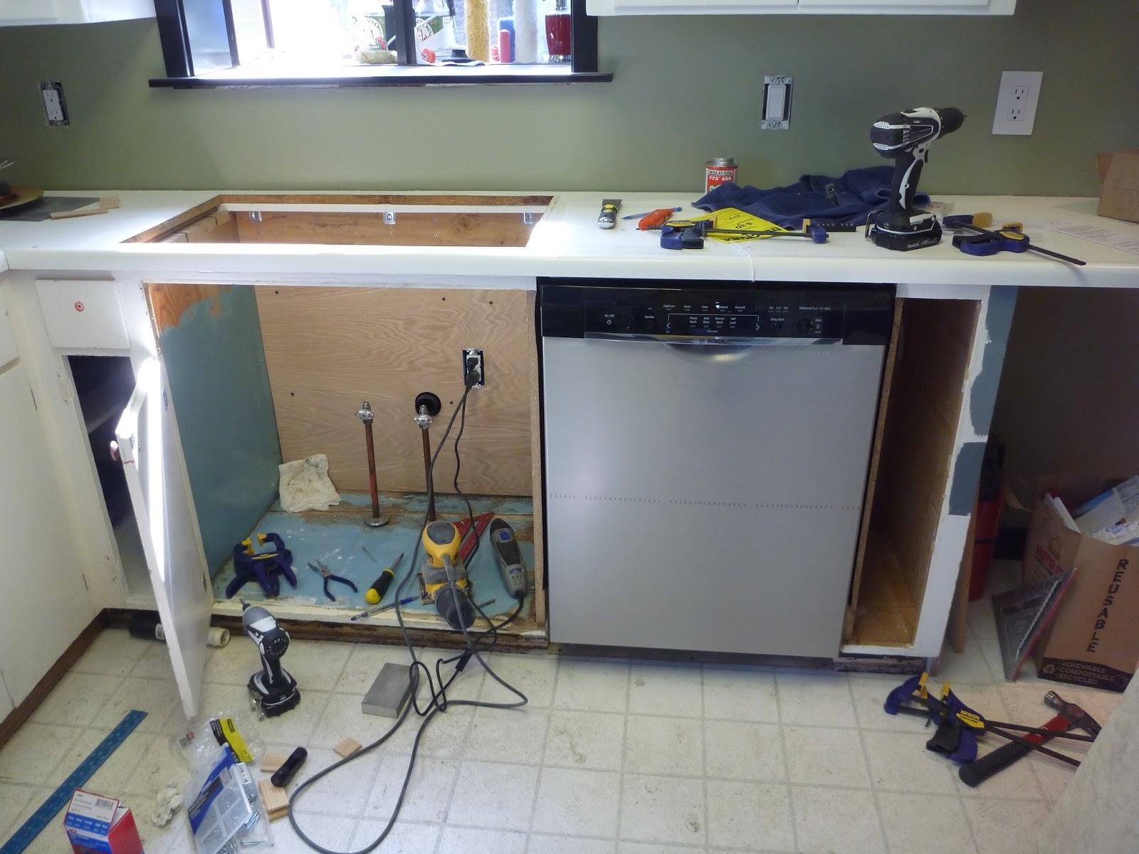 Можно ли пользоваться встраиваемой посудомойкой, не встраивая ее?