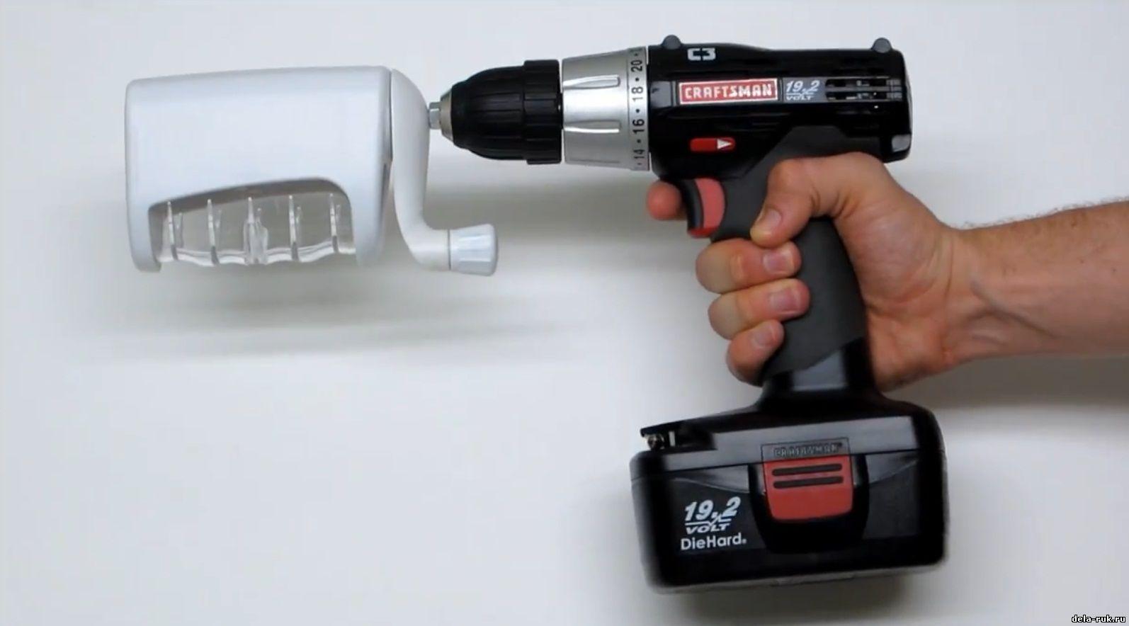 Дрель-шуруповерт сетевой: прибор для вкручивания и сверления