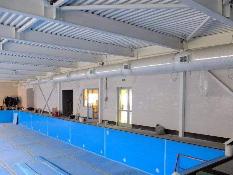 Вентиляция бассейна: назначение, инструкция по проектированию, элементы и нюансы