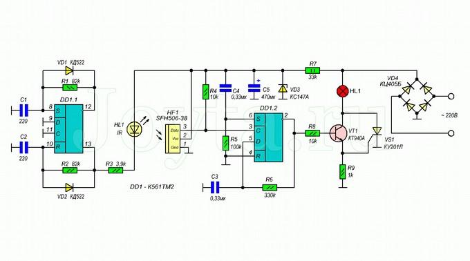 Современные сенсорные выключатели