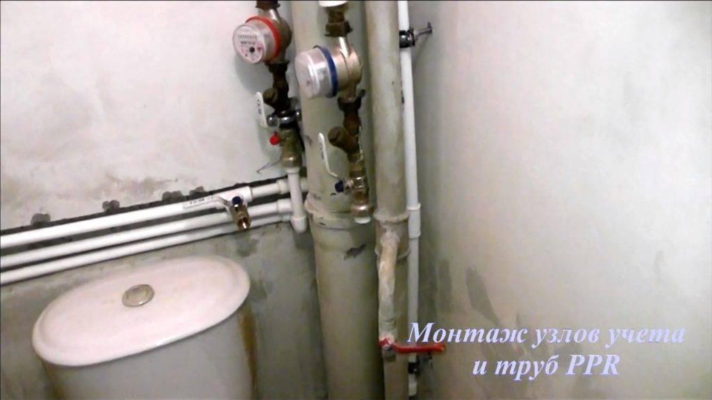 Разводка труб в ванной своими руками - порядок разводки труб (+фото)