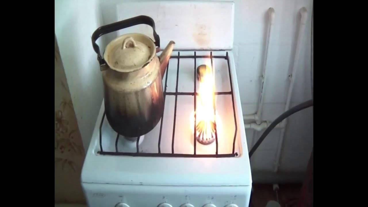 Почему коптит газовая плита с баллоном пропана: основные поломки и рекомендации по устранению