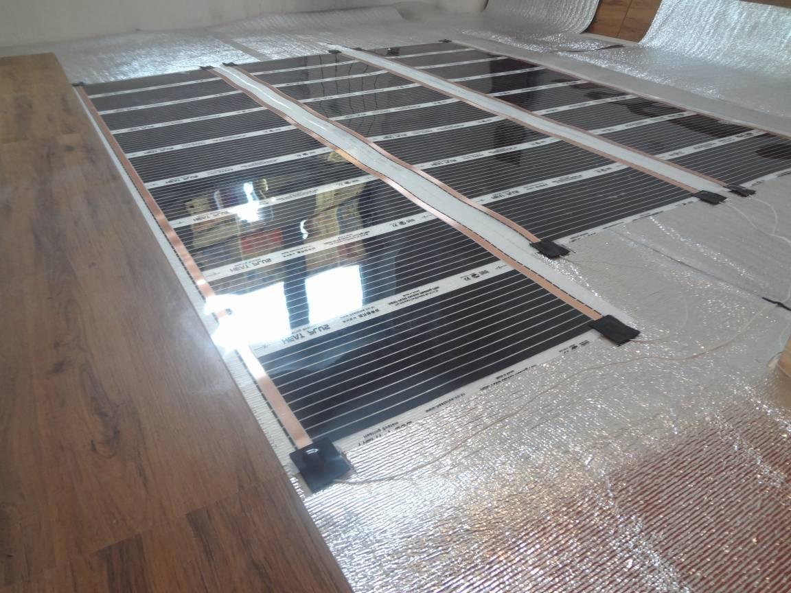 Системы теплого пола на деревянное основание под ламинированный пол
