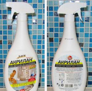 Чем мыть акриловые ванны в домашних условиях