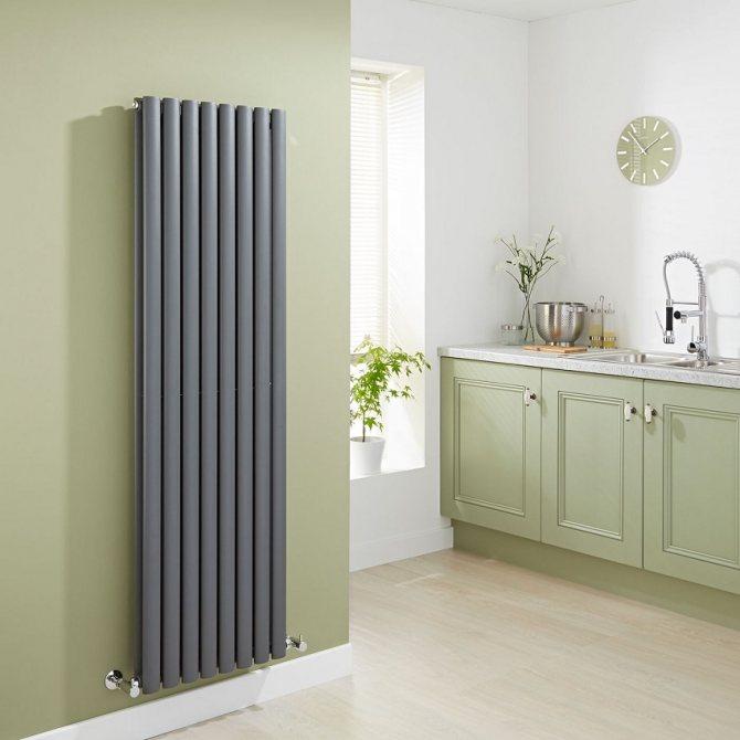 Стальные трубчатые радиаторы отопления: расчет регистров отопления по площади