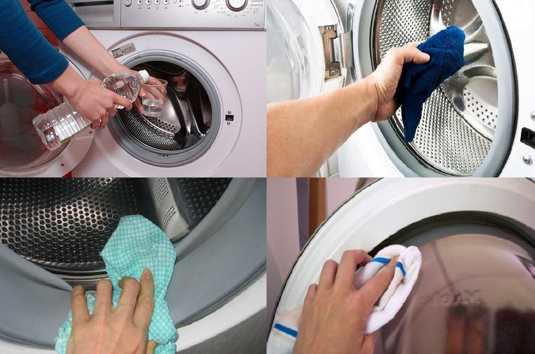 Куда засыпать порошок в стиральной машине?