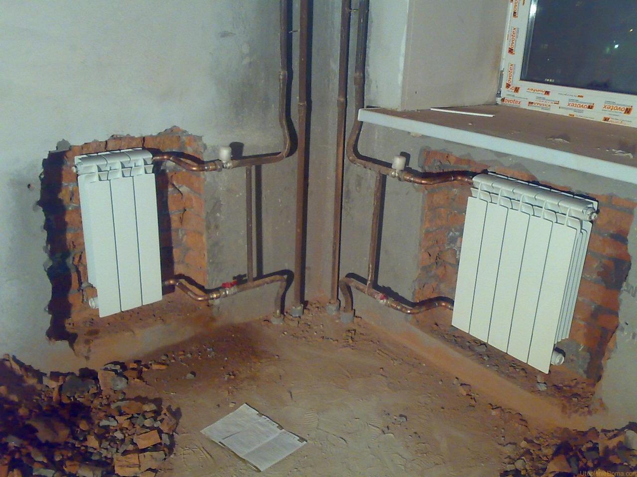 Как заменить радиаторы и батареи отопления в квартире: оформление документов, выбор материала и технология монтажа