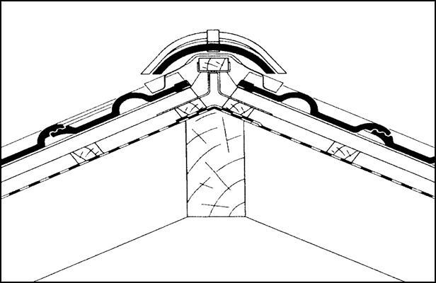 Коньковый аэратор для мягкой кровли технониколь - кровля и крыша