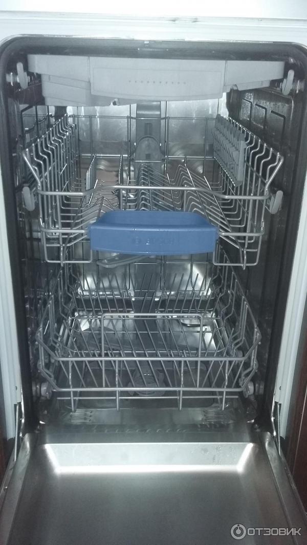 Обзор лучших встраиваемых посудомоечных машин «бош» шириной 45 см