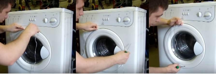 Как открыть дверцу стиральной машинкы индезит, если она заблокирована