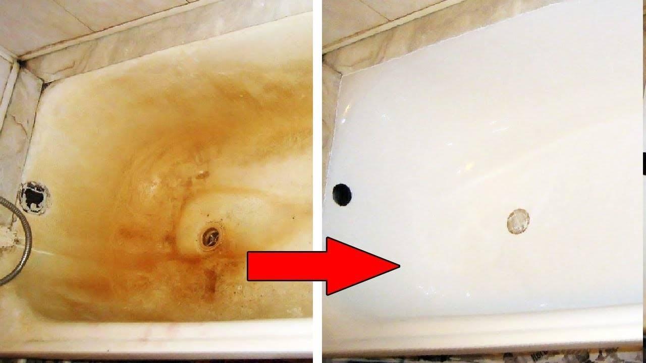 Как и чем мыть ванну: секреты белоснежной сантехники