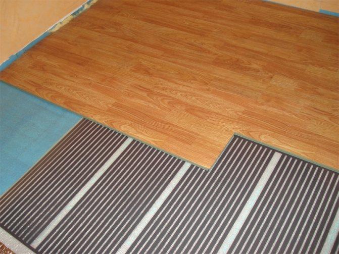 Качественный теплый пол на деревянную основу под ламинат