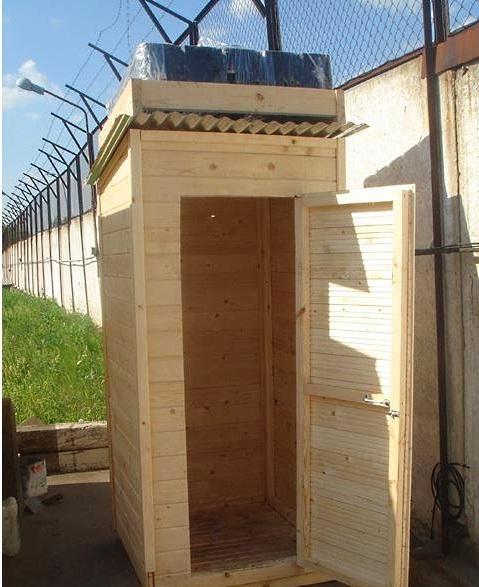 Душевая в деревянном доме: как правильно обустроить