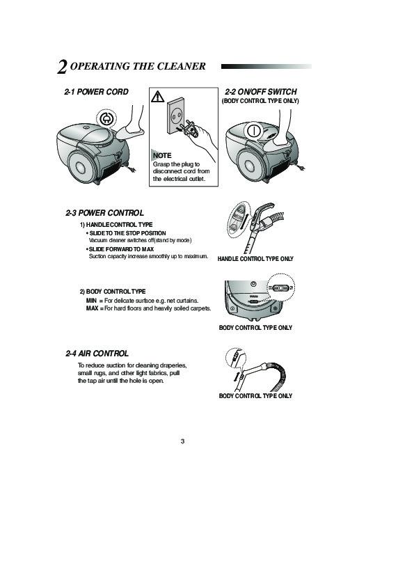 Тонкости осуществления ремонта пылесосов samsung