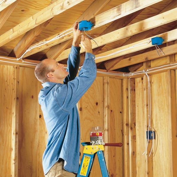 Электропроводка в деревянном доме: правила проектирования + инструктаж по монтажу - точка j
