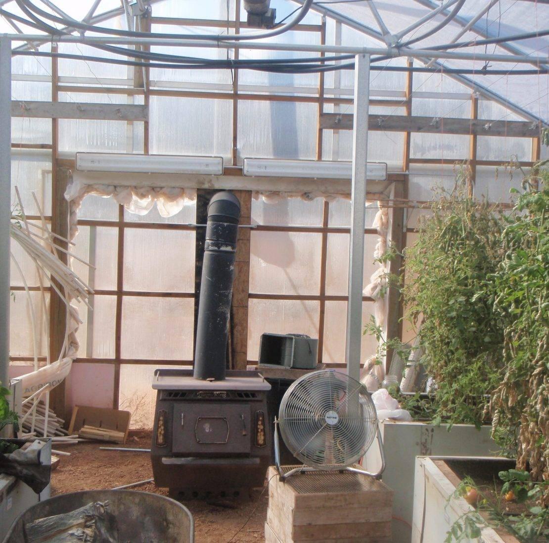 Отопление теплицы своими руками, зимний проект, схема, видео