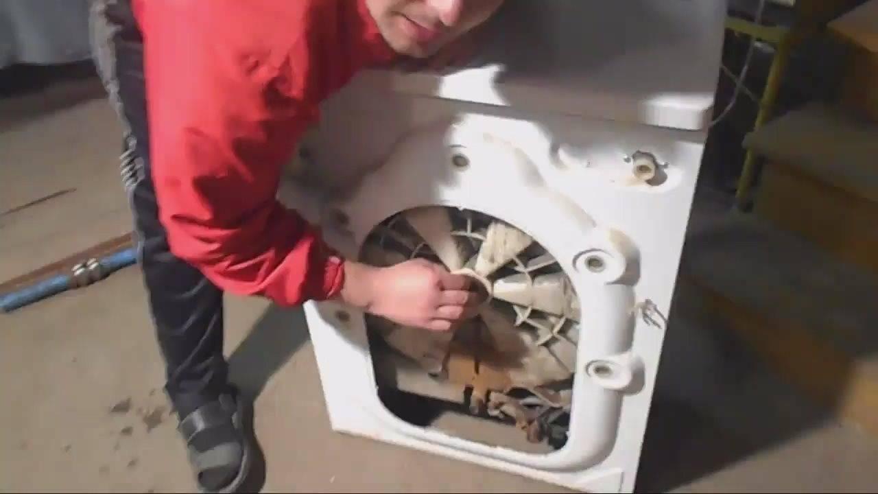 Как поменять подшипник на стиральной машине индезит wisl 102. как сэкономить 3000 рублей на ремонте стиральной машинки indesit wiun 102