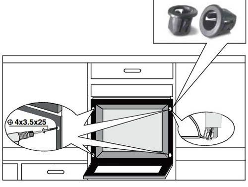 Духовой газовый шкаф — установка своими руками
