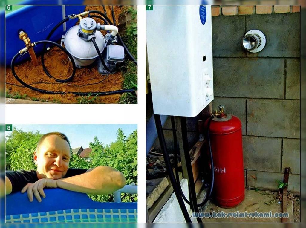 Бассейн с подогревом — роскошь и комфорт своими руками