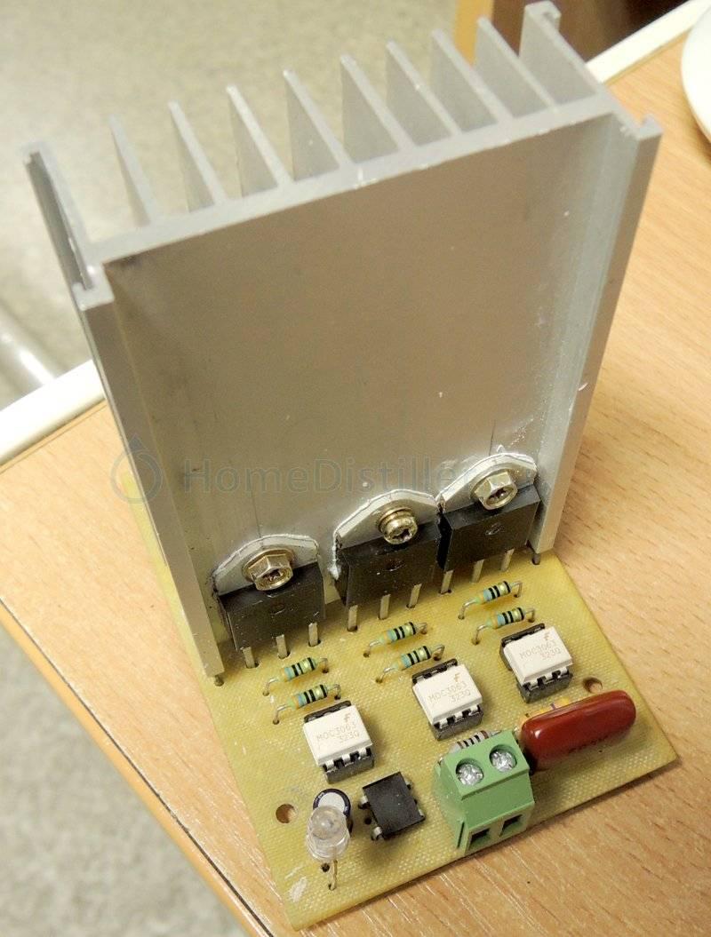 Тиристорный выключатель, переключатель, коммутатор. тиристор (тринистор / симистор) - силовой ключ. твердотельное реле своими руками.